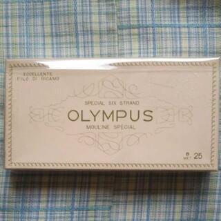 オリンパス(OLYMPUS)の刺繍糸 10本 オリムパス (生地/糸)