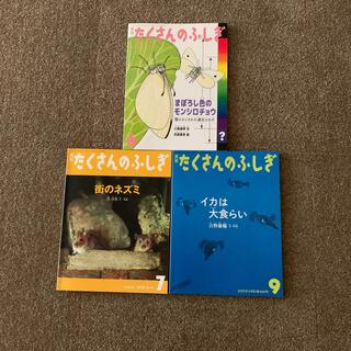 月刊 たくさんのふしぎ 3冊セット(絵本/児童書)
