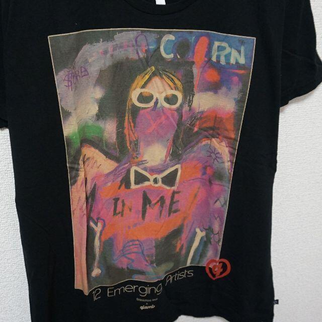 glamb(グラム)のグラム カートコバーン Tシャツ Kurt Cobain glamb メンズのトップス(Tシャツ/カットソー(半袖/袖なし))の商品写真
