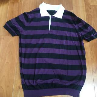 トゥモローランド(TOMORROWLAND)のTOMORROWLAND ポロシャツ サマーニット(ポロシャツ)