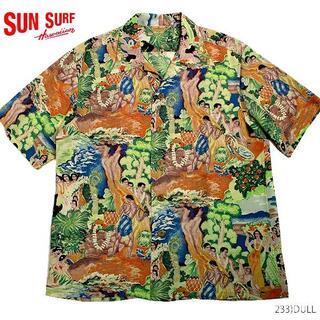 Sun Surf - サンサーフ 復刻 カメハメハ アロハシャツ sun surf