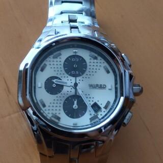 ワイアード(WIRED)のジャンク WIRED 腕時計 AGAV021 エックスドット(腕時計(アナログ))