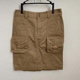 ラルフローレン(Ralph Lauren)のラルフローレン スカート ベージュ(ひざ丈スカート)