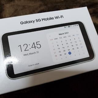 ギャラクシー(Galaxy)のGalaxy 5G Mobile WiFi(その他)