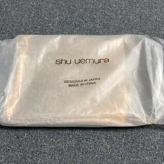 シュウウエムラ(shu uemura)のシュウウエムラ 新品未使用 クリアポーチ(その他)