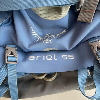 オスプレイ(Osprey)のosprey ariel 55 (ザックカバー付きます)(登山用品)