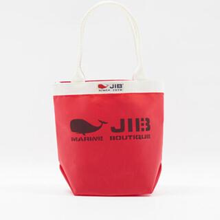 ファミリア(familiar)のファミリア JIB コラボ品 赤 レッド ジブ バッグ familiar(トートバッグ)