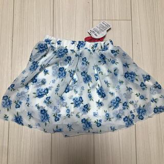 ニシマツヤ(西松屋)の西松屋 花柄 スカート スカパン 140(スカート)