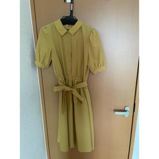 クチュールブローチ(Couture Brooch)の黄色 ワンピース (ロングワンピース/マキシワンピース)