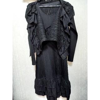 プリーツプリーズイッセイミヤケ(PLEATS PLEASE ISSEY MIYAKE)のプリーツプリーツワンピースとは織物(ロングワンピース/マキシワンピース)