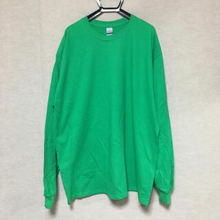 ギルタン(GILDAN)の新品 GILDAN ギルダン 長袖ロンT アイリッシュグリーン 緑 XL(Tシャツ/カットソー(七分/長袖))