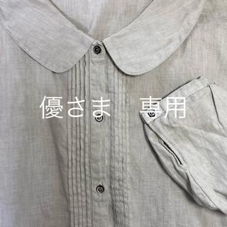 ネストローブ(nest Robe)のネストローブ 長袖 ゆったりブラウス 麻(シャツ/ブラウス(長袖/七分))