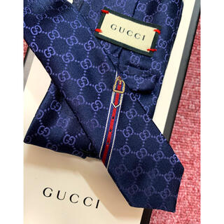 Gucci - GUCCI GGパターン シルクタイ グッチ