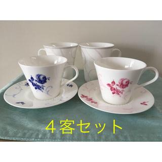 ニッコー(NIKKO)のNIKKO ニッコー ボーンチャイナ  カップ&ソーサー、マグカップ セット(食器)