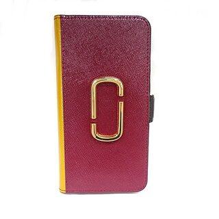 マークジェイコブス(MARC JACOBS)のマークジェイコブス 携帯電話ケース美品  -(モバイルケース/カバー)