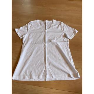 ジーユー(GU)の【GU】VネックTシャツ(Tシャツ(半袖/袖なし))