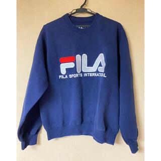 フィラ(FILA)のフィラ ロゴトレーナー(トレーナー/スウェット)