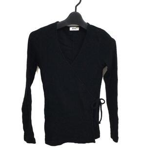 ロンハーマン(Ron Herman)のロンハーマン 長袖セーター サイズXS - 黒(ニット/セーター)