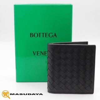ボッテガヴェネタ(Bottega Veneta)のボッテガヴェネタイントレチャート2っ折り財布【未使用保管品】(折り財布)