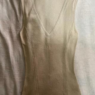 グッチ(Gucci)のgucciのノースリーブ(カットソー(半袖/袖なし))