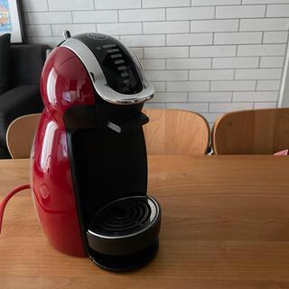 ネスレ(Nestle)のドルチェグスト ピッコロプレミアム本体 ワインレッド(コーヒーメーカー)