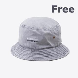 ネイバーフッド(NEIGHBORHOOD)のNHWDS / C-HAT / GRAY / Free size(キャップ)