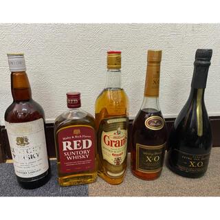 ウイスキー、ブランデー5本セット レクサス様専用(ウイスキー)
