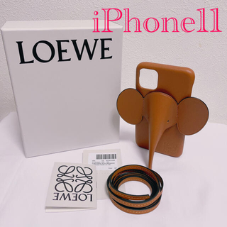 ロエベ(LOEWE)のお値下げ!LOEWE ロエベ iPhone11用ケース 新品 箱付き 大人気(iPhoneケース)