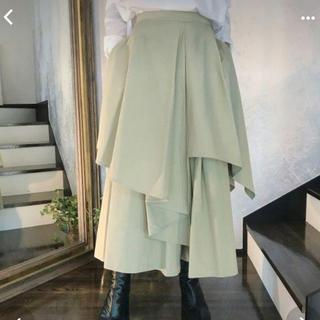 エンフォルド(ENFOLD)の週末限定値下げ 未使用 エンフォルドenfold スカートパンツ(ロングスカート)