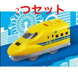 マクドナルド(マクドナルド)の新品 未開封 ハッピーセット プラレール ドクターイエロー 2セット(電車のおもちゃ/車)