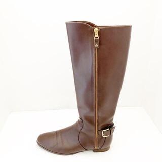 ダイアナ(DIANA)のダイアナ ロングブーツ 21 1/2 K W美品  -(ブーツ)