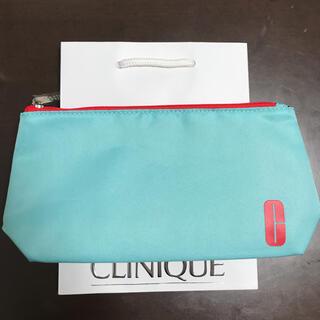 クリニーク(CLINIQUE)のクリニーク ポーチ 可愛い 安い 美品 新品未使用(ポーチ)
