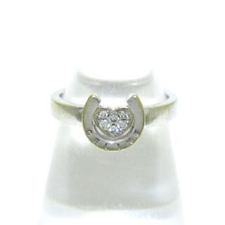 セリーヌ(celine)のセリーヌ リング - K18WG×ダイヤモンド(リング(指輪))