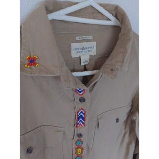 デニムアンドサプライラルフローレン(Denim & Supply Ralph Lauren)のデニムアンドサプライ コットンビーズシャツ(シャツ/ブラウス(長袖/七分))