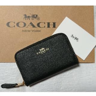 コーチ(COACH)の大人気!コーチコインケース  ブラック(コインケース/小銭入れ)