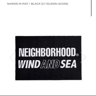 ネイバーフッド(NEIGHBORHOOD)のNHWDS-N-MAT / BLACK (211ELWSN-AC04S) × (ラグ)
