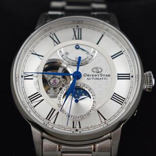 オリエント(ORIENT)のオリエントスター「メカニカルムーンフェイズ」 RK-AM0005S(腕時計(アナログ))