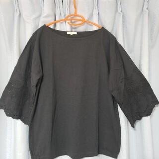 スタディオクリップ(STUDIO CLIP)のstudioclip袖レースTシャツ Lサイズ(Tシャツ(半袖/袖なし))
