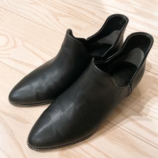 エンフォルド(ENFOLD)のRIM.ARK Chain shoes BLK(ローファー/革靴)
