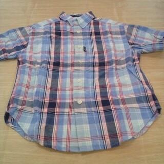バーバリー(BURBERRY)のバーバリー 110cm 半袖 シャツ チェック 02MN06051308(ブラウス)