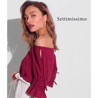 アナップ(ANAP)のANAP  オープンスリーブオフショルダートップス アナップ(カットソー(半袖/袖なし))