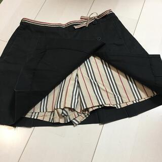 バーバリー(BURBERRY)のBUBERRY バーバリー キュロットスカート 130 子供服(スカート)