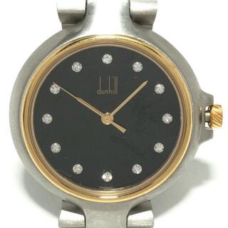 ダンヒル(Dunhill)のダンヒル 腕時計 ミレニアム レディース 黒(腕時計)