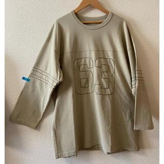 JOHNBULL - 【新品】JOHNBULL刺繍ロンTカーキ系Lサイズ