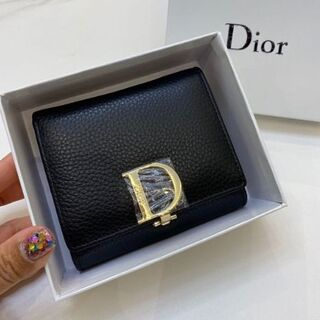 Dior デイオール 三つ折り財布