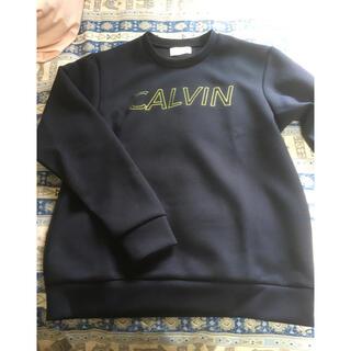 シーケーカルバンクライン(ck Calvin Klein)の値段交渉可能未使用カルバンクラインプラチナムスウェット(スウェット)