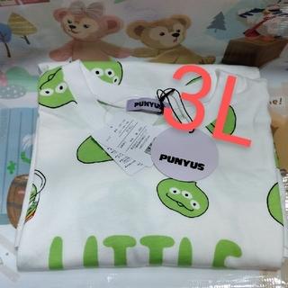 プニュズ(PUNYUS)のプニュズ  ディズニー リトルグリーンまん Tシャツ 3L(Tシャツ(半袖/袖なし))
