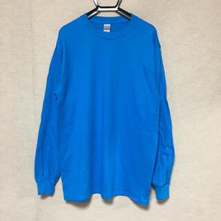 ギルタン(GILDAN)の新品 GILDAN ギルダン 長袖ロンT サファイアブルー M(Tシャツ/カットソー(七分/長袖))