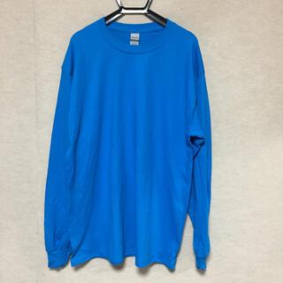 ギルタン(GILDAN)の新品 GILDAN ギルダン 長袖ロンT サファイアブルー L(Tシャツ/カットソー(七分/長袖))