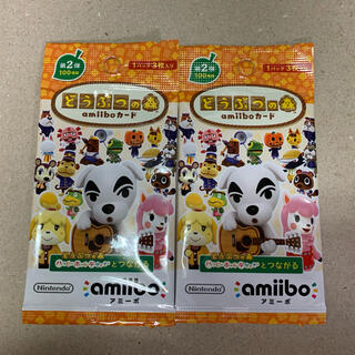 Nintendo Switch - 【新品未開封】どうぶつの森 amiiboカード 第2弾 2パック